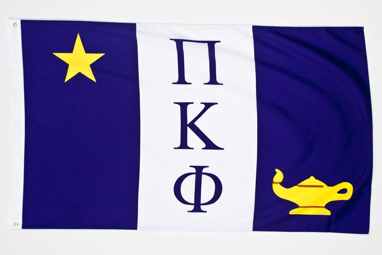 Pi kappa phi flag by moregreeks on etsy