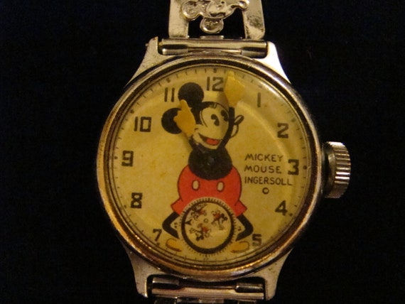 1934-1937 Mickey Mouse Watch