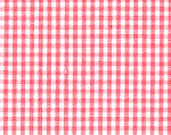 """1/16"""" CORAL Fabric Finders Gingham"""