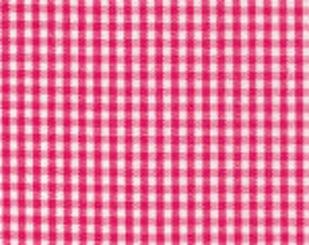"1/16"" RASPBERRY Fabric Finders Gingham"