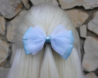 cinderella hair bow