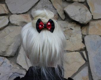 mouse mini hair bow