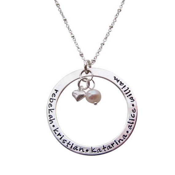 mother 39 s jewelry infinity name necklace with charms. Black Bedroom Furniture Sets. Home Design Ideas