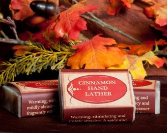 Soap Bars - Cinnamon Hand Lather