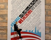 Limited Run (edition of 150) Obama Cover Art Poster. By Gordy Sang