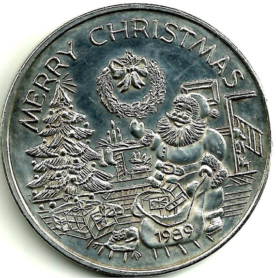 1989 Merry Christmas Michael 1 Troy Oz 999 Fine