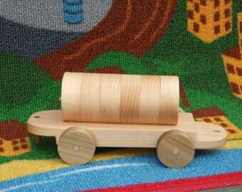 Beautiful handmade tanker train car toy