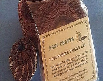 Pine Needle Basket Kit