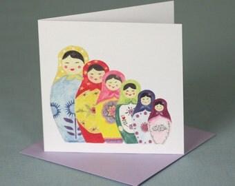 Babushka Babushka Card
