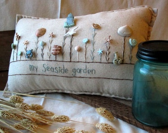 My Seaside Garden Pillow (Cottage Style)