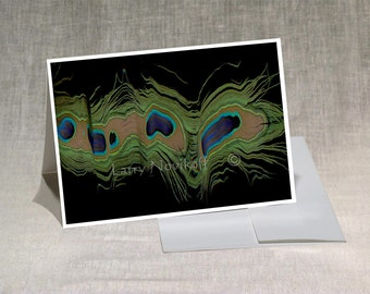 Prints-Greeting Cards-5x7 Set of-5-Original Photos-Blank Inside--Prints from 8x12-Computer-Abstract Art - SET X03
