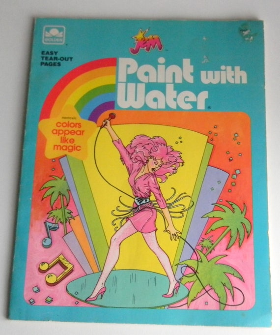 Items similar to Jem and the Holograms Paint with Water ...