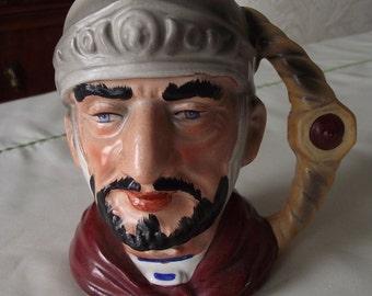 Vintage soldier face mug, made in Japan
