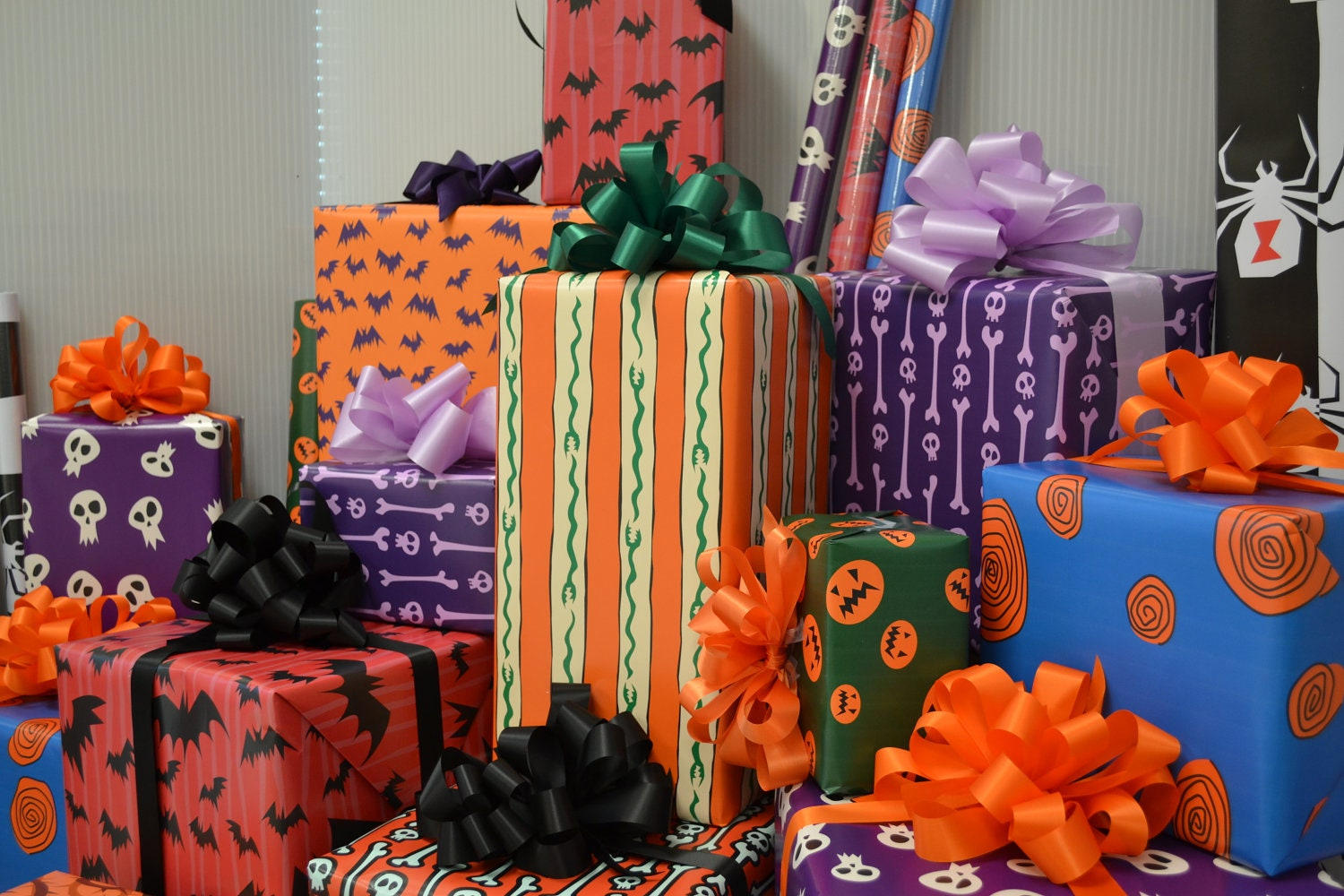 Nightmare Before Christmas Wrapping Paper by WilicriStudio on Etsy
