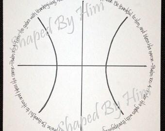 Basketball - Psalm 100:4 - 8x10