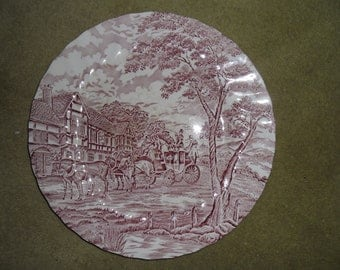 Pink Myott Vista Tableware Plate