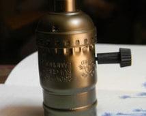 20 antique vintage edison style light bulb electric light socket UL listing lamp holder