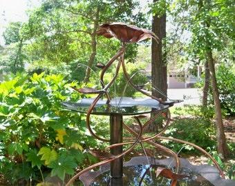 Copper Birdbath / Fountains