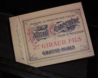 Handmade notebook- recicled kraft paper-  shabby,vintage, retro, country