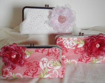 Pink Bridesmaid Handbag / Bridesmaid Gift / Farmhouse Wedding