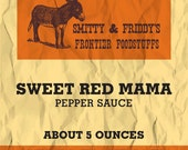 Sweet Red Mama Sauce, 5 oz. bottle