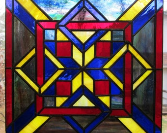 Stained Glass Knot Panel v2