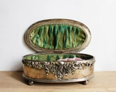 RESERVED FOR CopleySweet  1/2 Antique Art Nouveau jewelry box