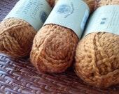 "Organic Cotton Yarn - Nature's Choice ""Spice"" - 3 Balls"