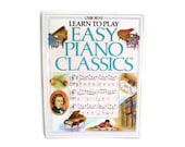 Learn To Play Easy Piano Classics Usborne Book 1990 Music Piano Music Classical Composers Baroque