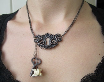 Darker Fairytale Keyhole Necklace