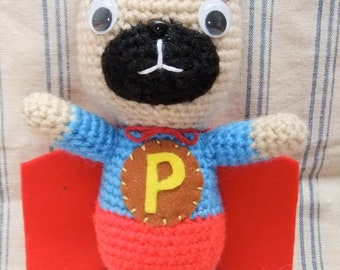 The Flying Super Pug