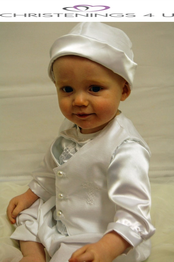 boys christening outfit/suit