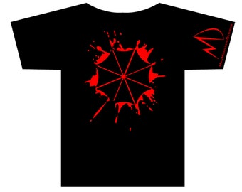 Resident Evil Umbrella Corporation Splat T-shirt