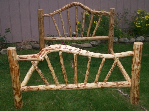 KING Size Complete Rustic SNOWBEND Style By CountryLogFurniture