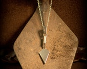 SALE* Sterling Silver Archaeological Trowel Necklace