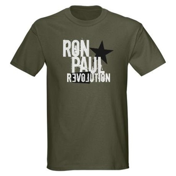 Items Similar To T Shirt Ron Paul Revolution Military