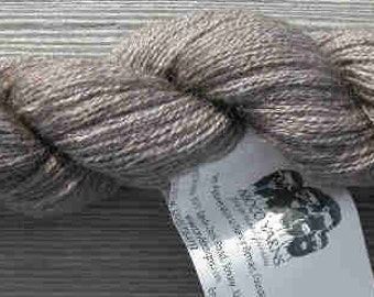 70/20/10 Qiviut-Merino-Silk, Lace weight, 300yds/oz, 1 ounce skein
