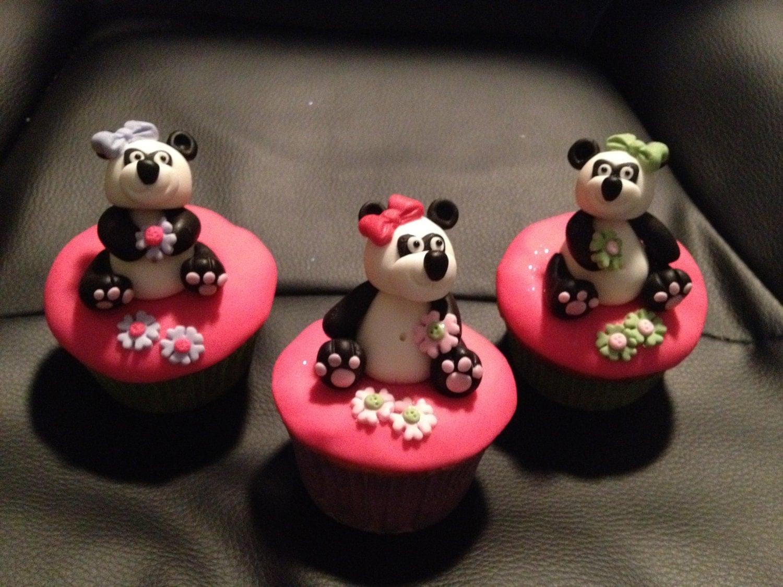 Panda Cake Toppers  Zazzle