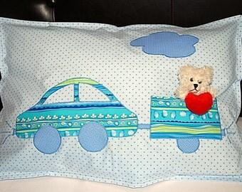 Children's bedding blue
