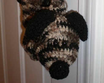 Crocheted Animal Purse (Puppy Dog)