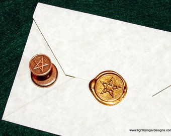 Pentagram Wax Seal