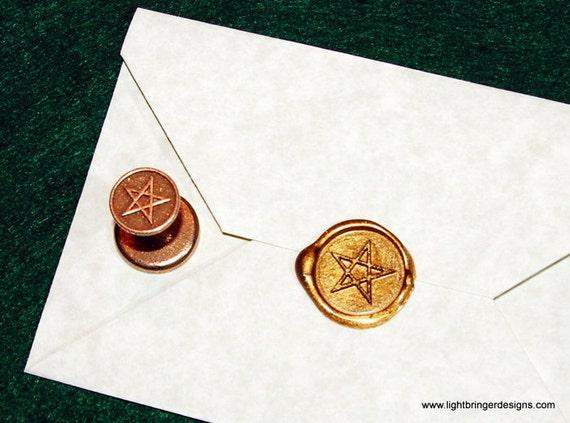 Pentagram Wax Seal