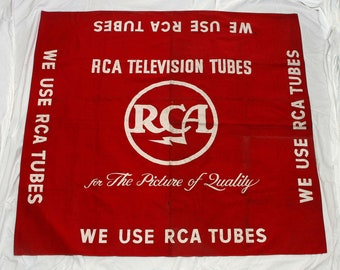 "RCA ""Tube Television"" Advertising Banner"