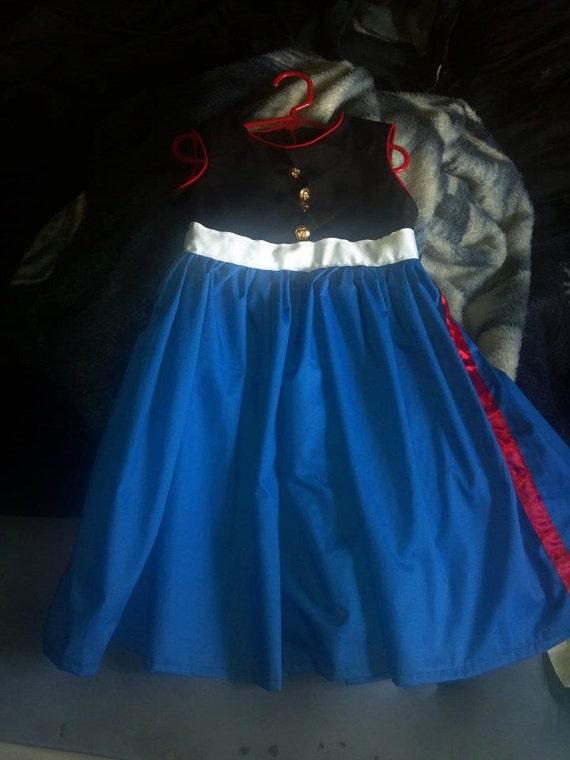 Items Similar To Marine Corps Dress Blues Dress 0m 5t On Etsy