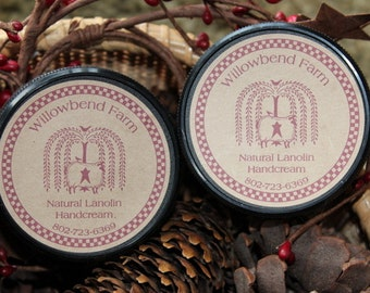 Lanolin based handcream made right here on the farm