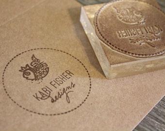Custom Logo Stamp - 2x2 Inches