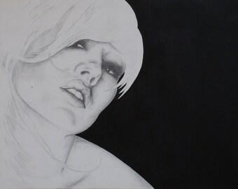 Original Artwork - 'Camelia'