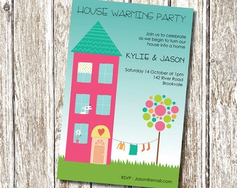 House Warming Invitation Paint Is Finally Dry House Warming