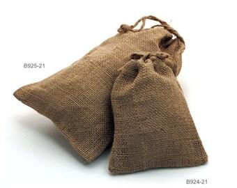"5.75"" x 9.75"" Jute Gift Bags (24 Pack)"