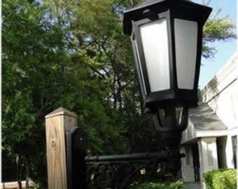 """Victorian English  Style Wall Mounted Light Sconce Fixture """"The Banton"""""""